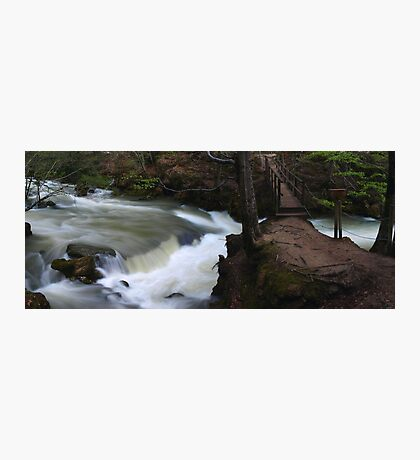 Crossing Point Photographic Print