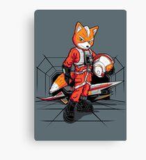Rebel Fox Canvas Print