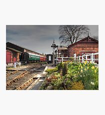 Tenterden Railway station  Photographic Print