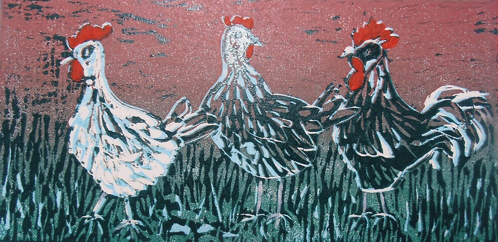 Bridget's Poultry 2 by Susan Duffey