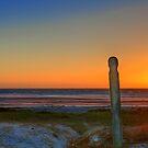 Sunset on Melkbosstrand Beach, West Coast, South Africa by John  Paper