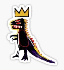 Basquiat Dinosaur Sticker