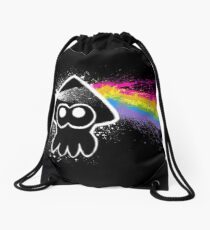 DARK SIDE OF THE SQUID Drawstring Bag
