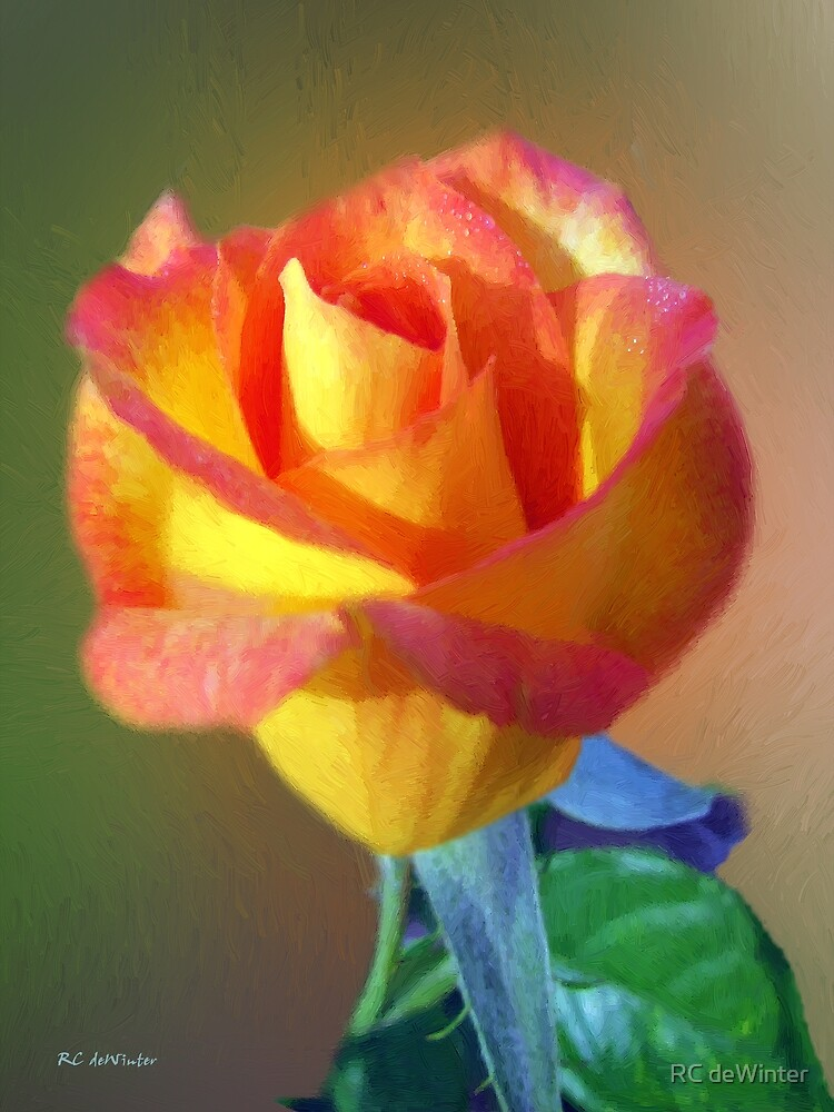 Kissed with Dew by RC deWinter