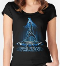 FALTRON Women's Fitted Scoop T-Shirt