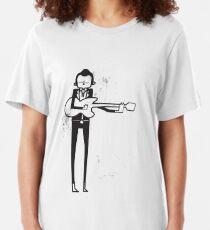 Johnny Cash Slim Fit T-Shirt