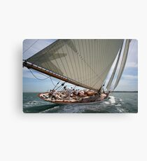 Mariquita in Full Sail Canvas Print
