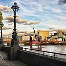 The Embankment, London by John Lines