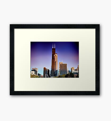 View of Willis Tower Framed Print