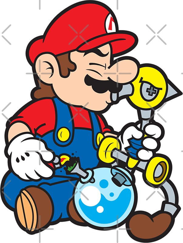 Quot Super Stoned Mario Quot Stickers By Strainspot Redbubble