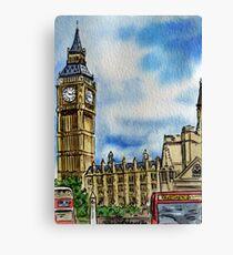 Big Ben Tower London  Canvas Print