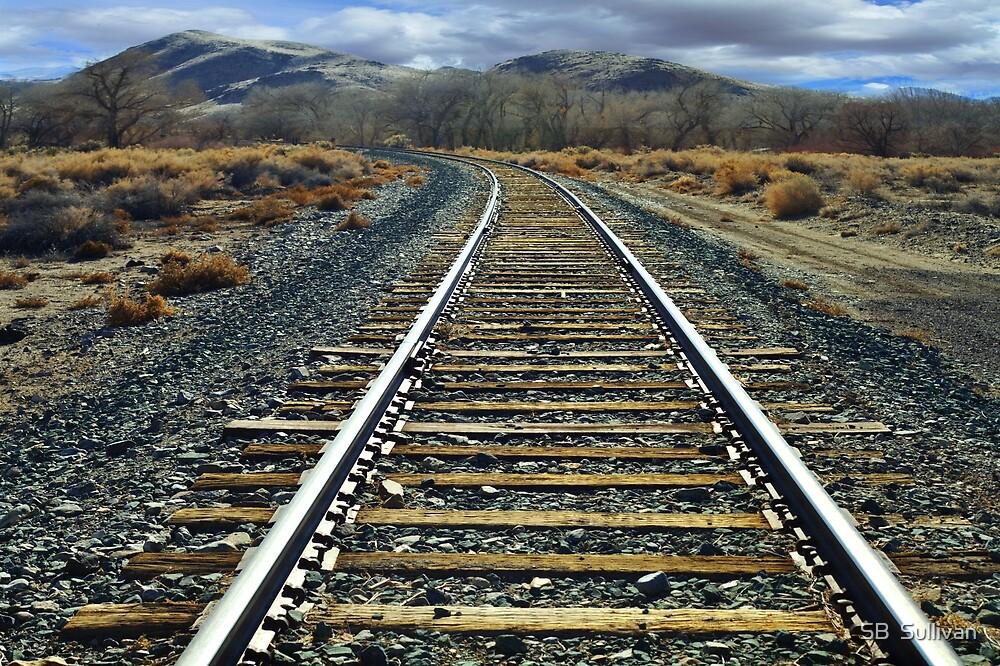 Hear that train a commin? by SB  Sullivan