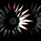 Abstract Flower, Red 1/5 by Mark Battista