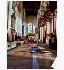 All Saints Maidstone Warriors Chapel Poster
