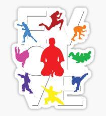 Evolve (MMA) Sticker