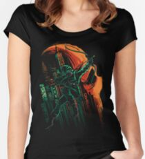 Green Vigilance Women's Fitted Scoop T-Shirt