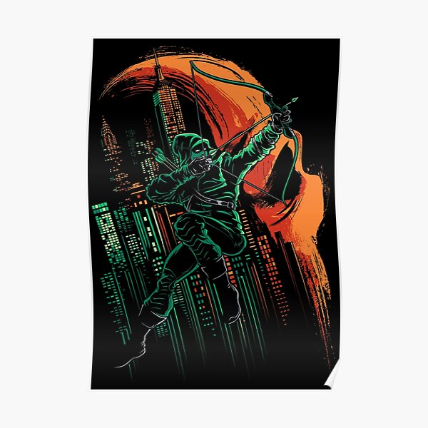The Green Arrow Symbol Oliver Queen Vigilante Vinyl Sticker Decal Graphic CUSTOM