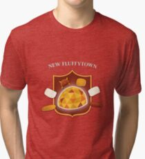 New Fluffytown | Community Tri-blend T-Shirt
