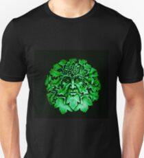 Grüner Mann Slim Fit T-Shirt