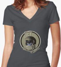 Vashta Nerada Women's Fitted V-Neck T-Shirt