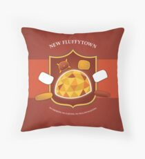 New Fluffytown | Community Throw Pillow