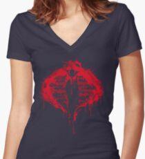 Cobra for Life Women's Fitted V-Neck T-Shirt