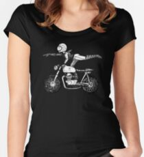 Women Who Ride - Superwoman Women's Fitted Scoop T-Shirt