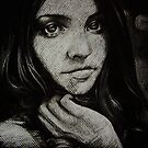 Charcoal experiment #5 by OlgaNoes