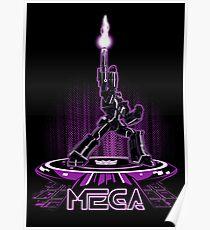 MEGA (TRON) Poster