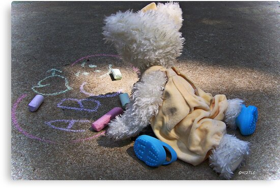 Winnie's Chalk Drawings by Terri Chandler