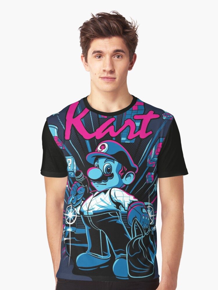 Kart Graphic T-Shirt Front