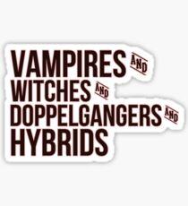 TVD Sticker