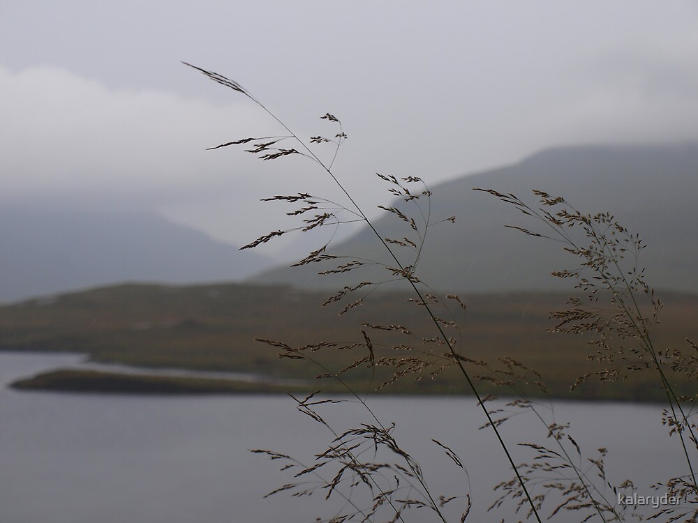 View from Knockan Crag Scotland by kalaryder