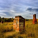 Still standing ... Eulolo homestead by Rosalie Dale