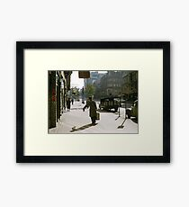 Collins Street Milkman 19580102 0000 Framed Print