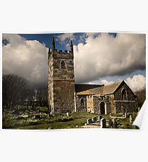 St. Wynwallow Church Poster