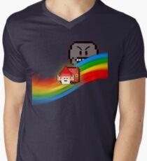 NyanGnome Mens V-Neck T-Shirt