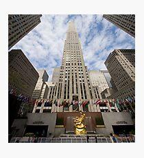 30 Rock Pan NY Photographic Print