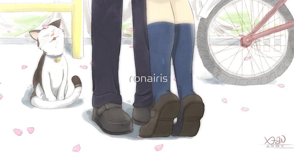 First Kiss by ronairis