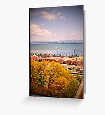 tagus river Greeting Card