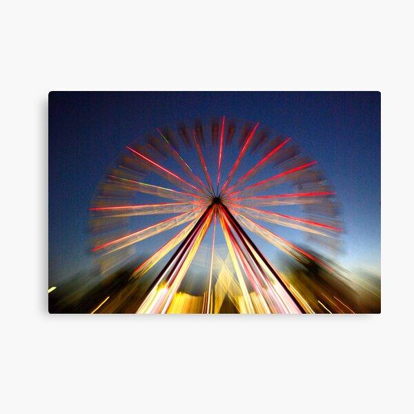Ferris Fireworks Canvas Print