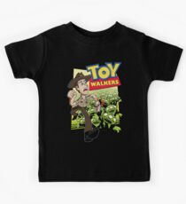 Toy Walkers (color) Kids Tee