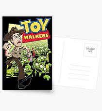 Toy Walkers (color) Postcards