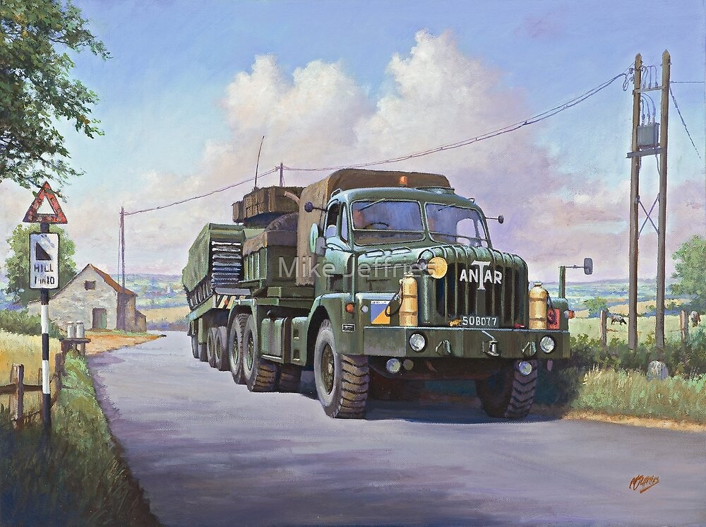 Thornycroft Antar by Mike Jeffries