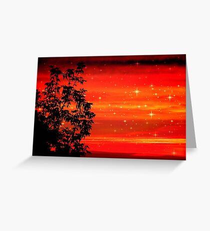 Morning Star Light © Greeting Card