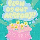 Angry Birthday Cake...  by jillhowarth
