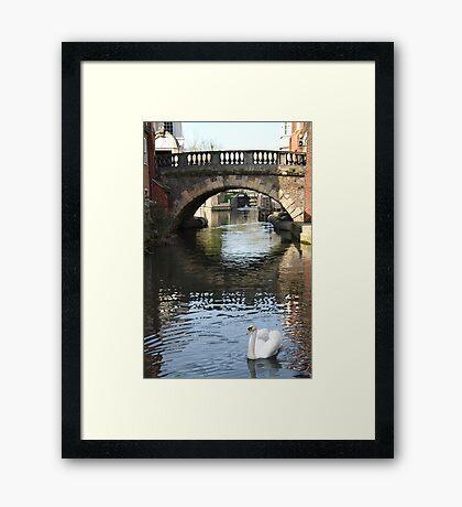 Newbury Bridge Framed Print