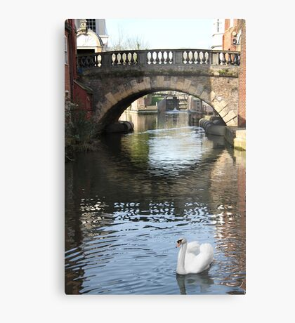Newbury Bridge Metal Print