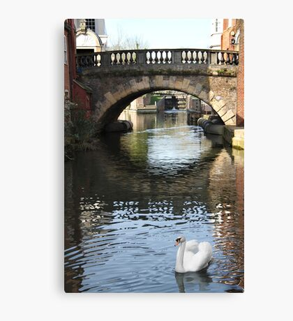 Newbury Bridge Canvas Print