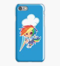 MLP Gijinka Rainbowdash  iPhone Case/Skin